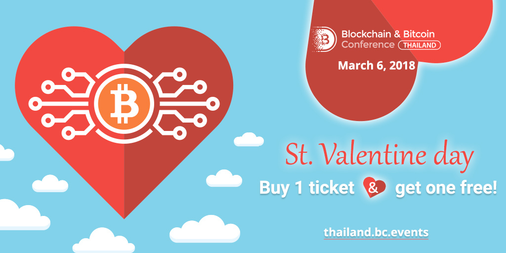 For blockchain lovers: two-for-one tickets to conference