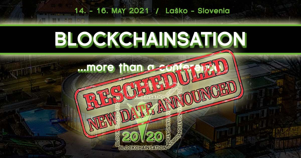 Blockchainsation - rescheduled