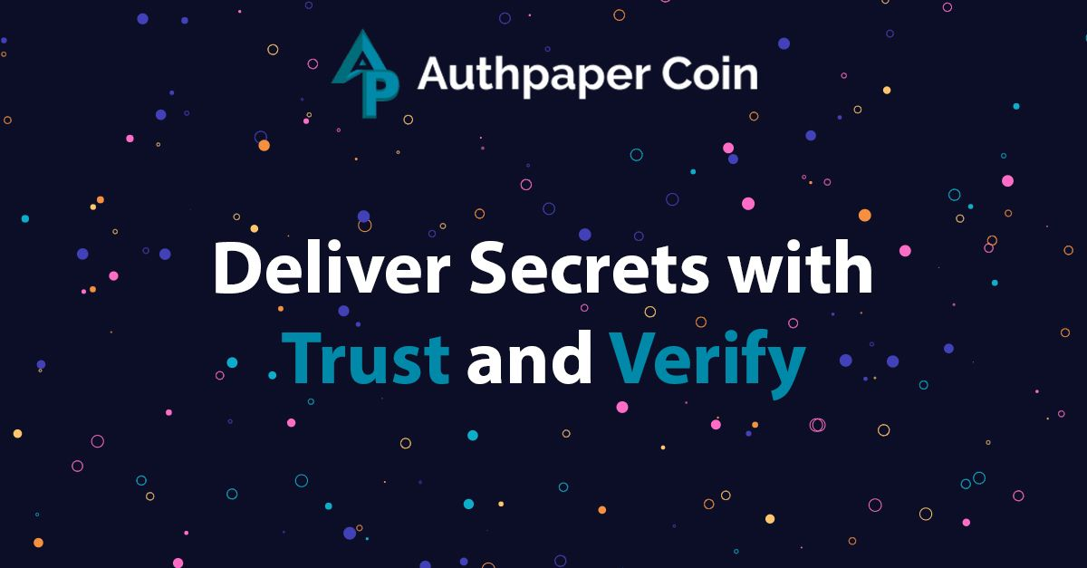 Authpaper Delivery (AUPC)-Why Is It a Better System for The World?