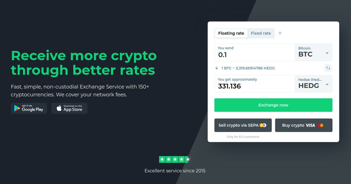 HedgeTrade's HEDG Token strengthens its market position with important listing on Changelly.com