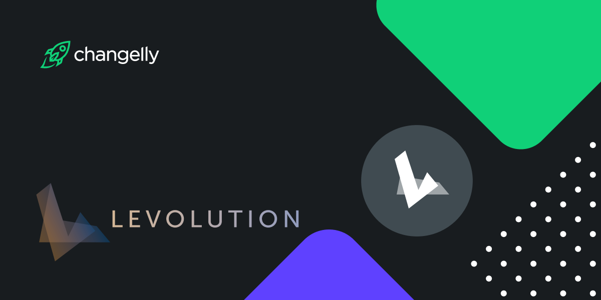 Changelly adds Levolution's utility token LEVL to its list of 160+ exchangeable assets