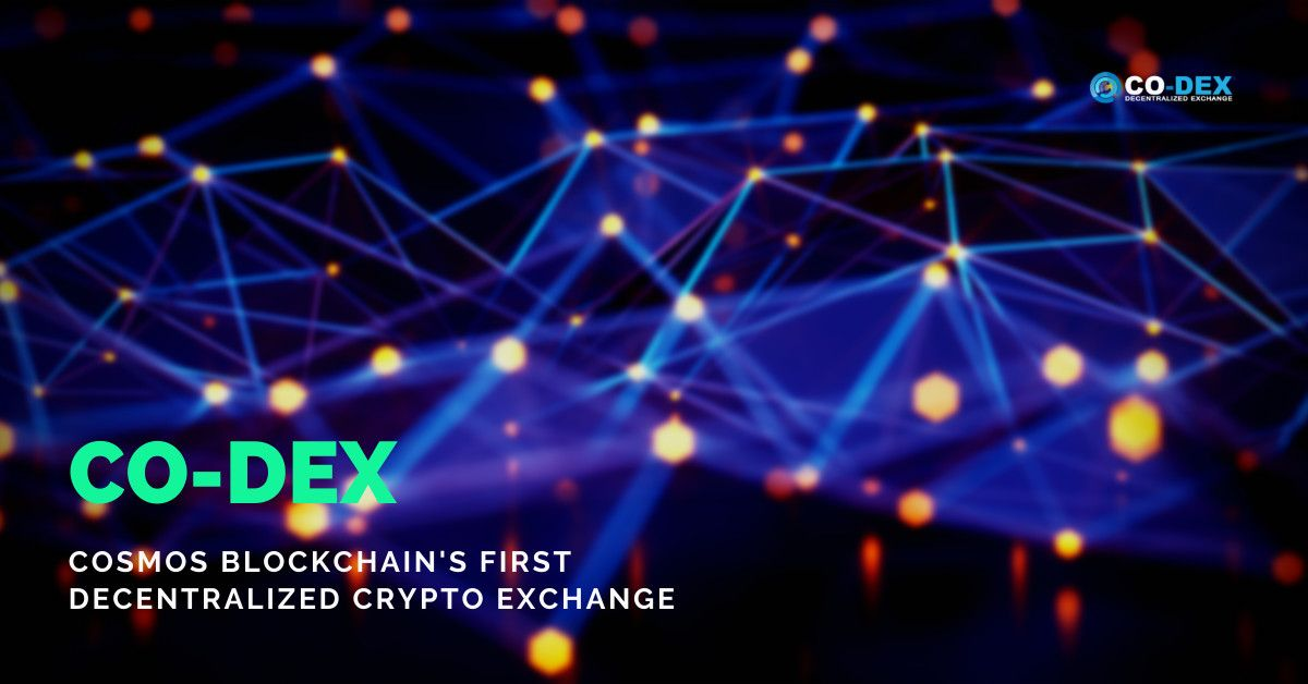Cosmos Blockchain's First Decentralized Crypto Exchange Launched as Co-dex