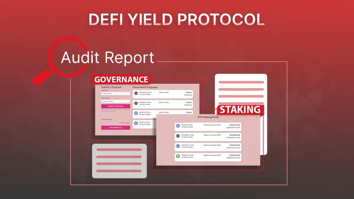 DeFi Yield Protocol (DYP) Provides a New Level of Transparency to the Market