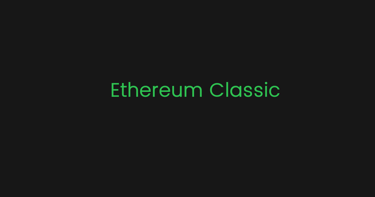 """Ethereum Classic Labs Proposes """"MESS,"""" An Immediate Network Security Solution For Ethereum Classic"""