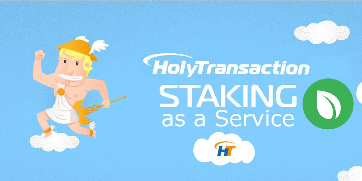 Earn money through Peercoin staking in HolyTransaction wallet