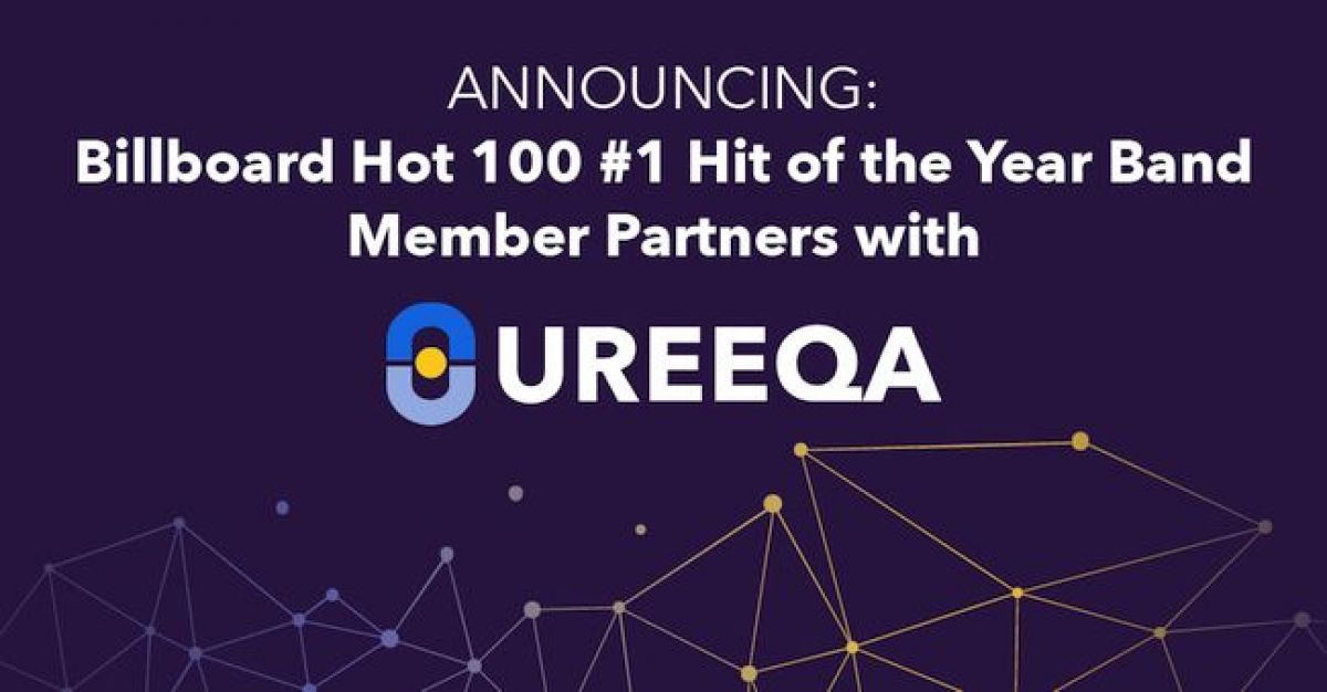 Billboard Hot 100 #1 Hit of the Year Band Member Partners with UREEQA