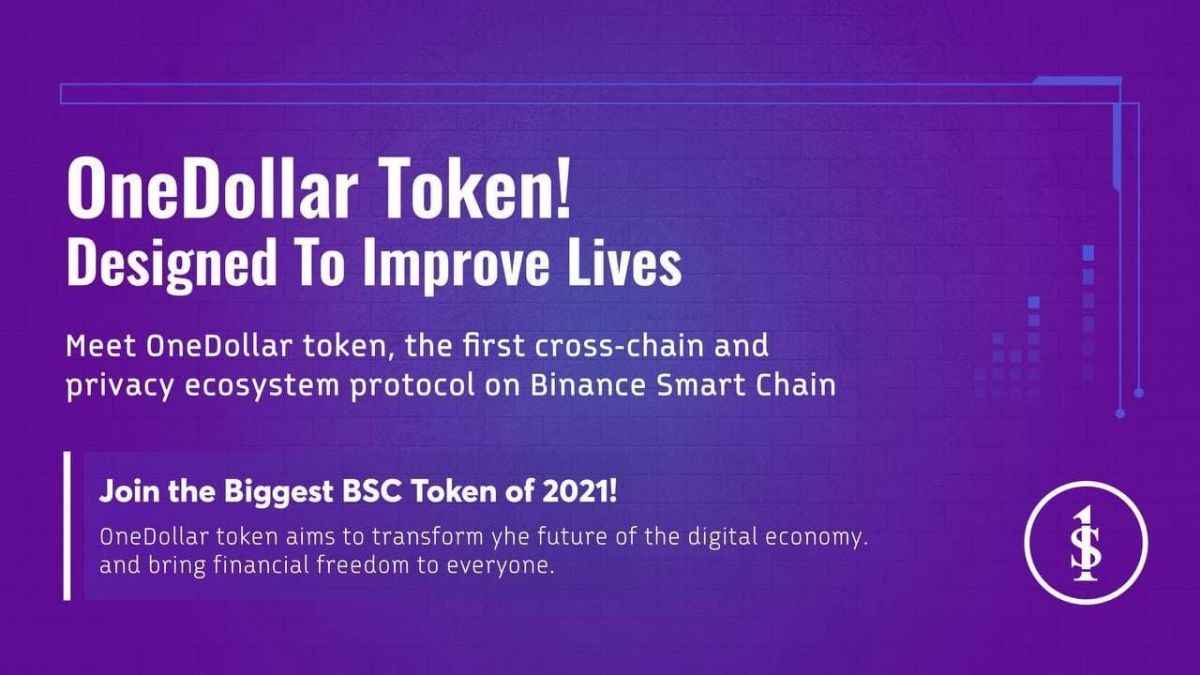 Meet OneDollar Finance— The first Cross-chain and Privacy ecosystem protocol on Binance Smart Chain.