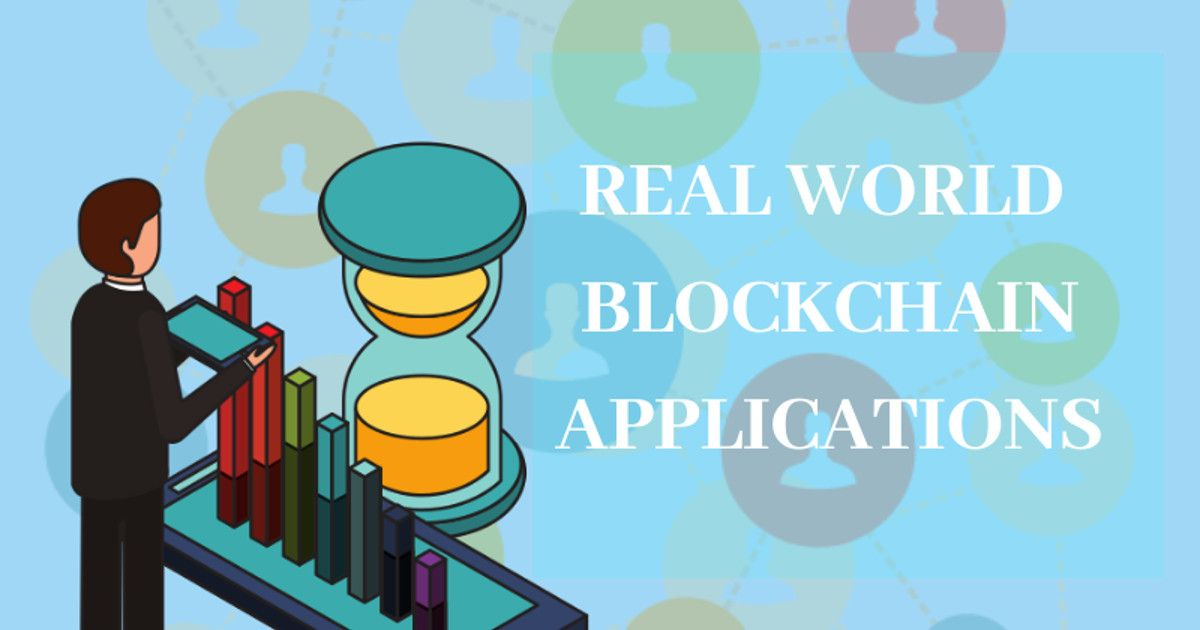 Real world blockchain applications in the industry