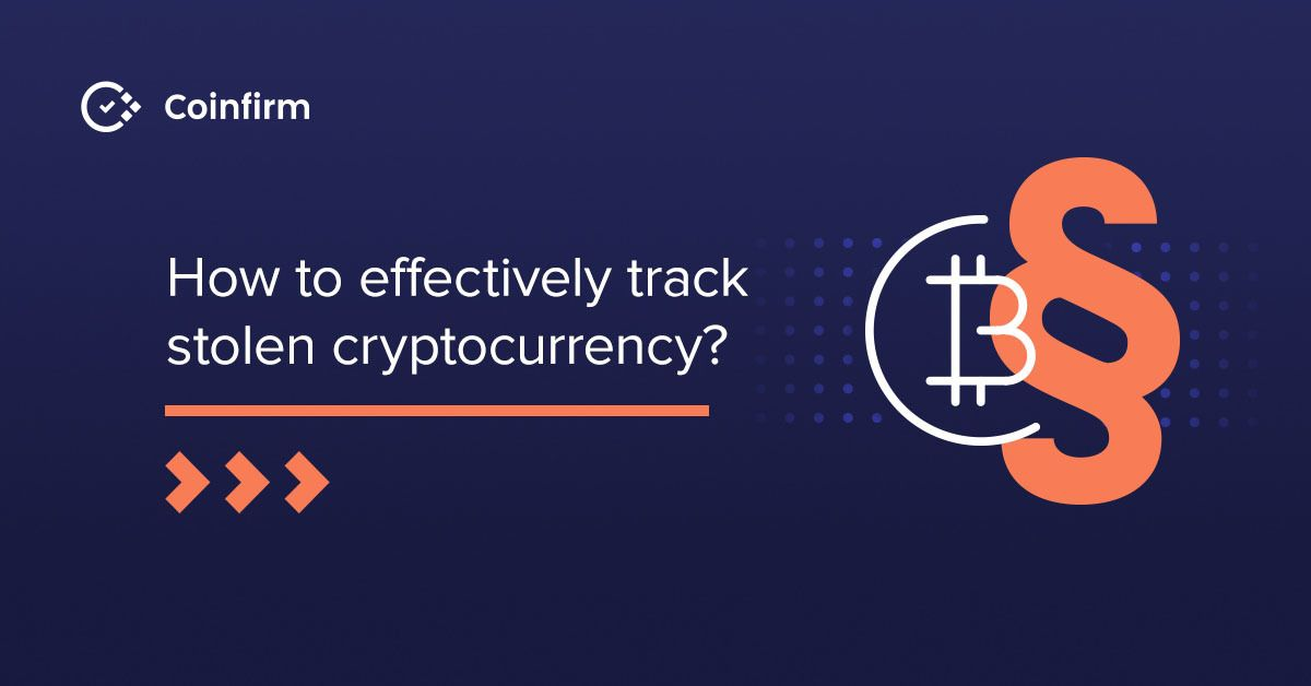 Difficulties of returning stolen cryptocurrency: personal property or not?