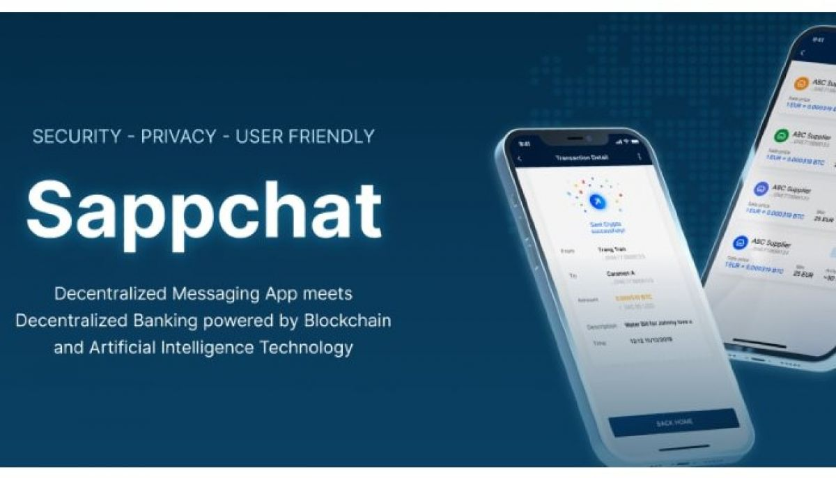 SappChat: Providing Safe Communications and Financial Operations on the Blockchain