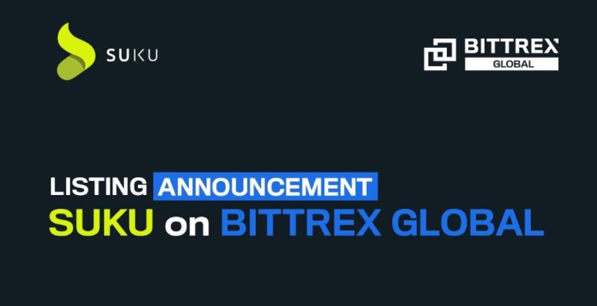 Listing announcement: SUKU on Bittrex Global