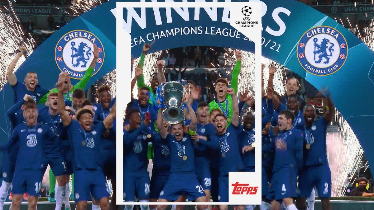 UEFA Set To Lauch NFT Collectibles with Topps Company